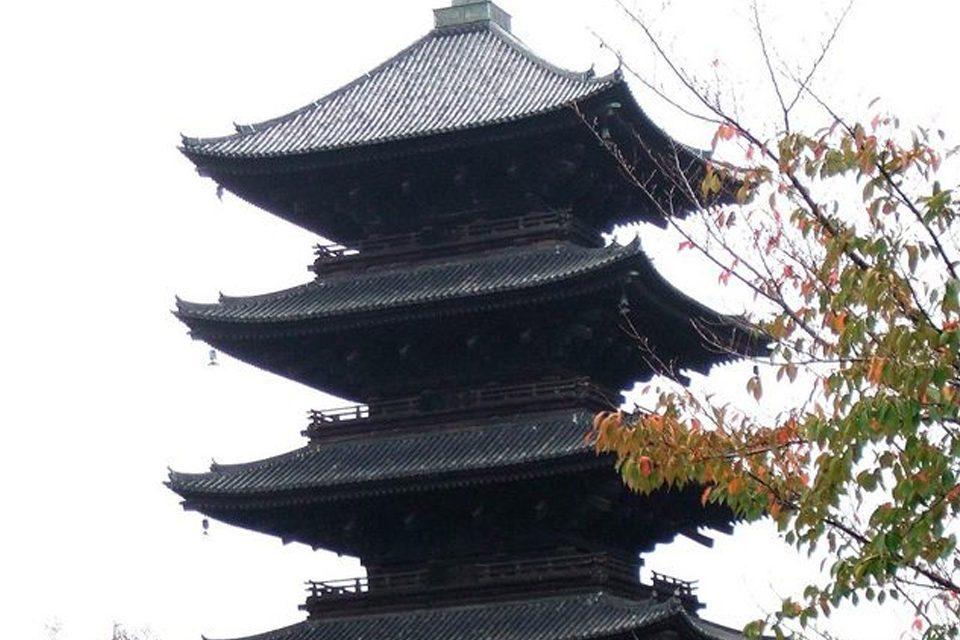 東寺-五重塔2