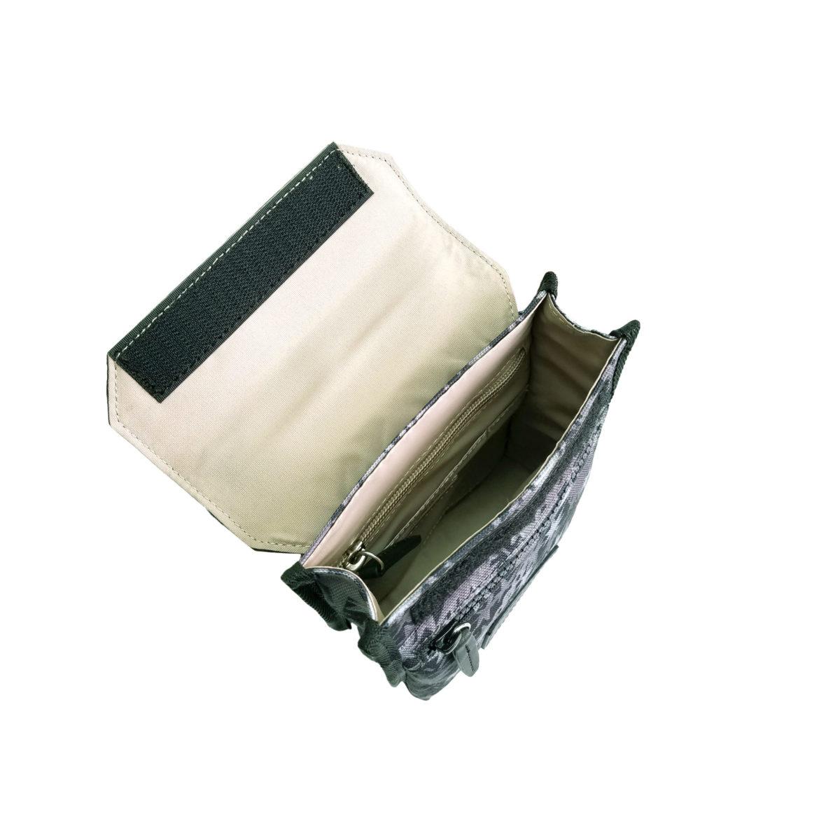 Stella Misto Flap Staff Pouth Bag Black