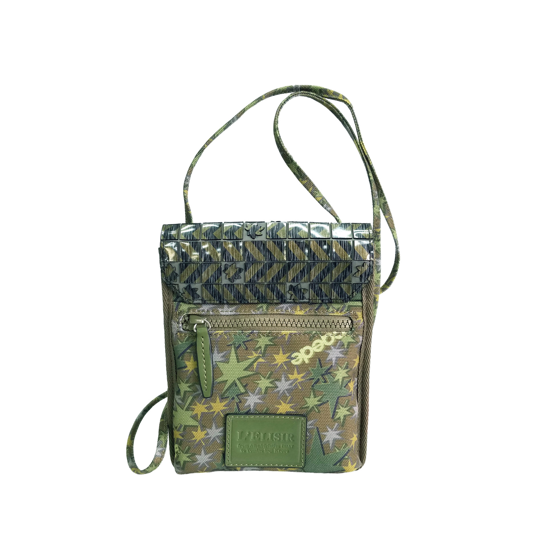 Stella Misto Flap Staff Pouth Bag green