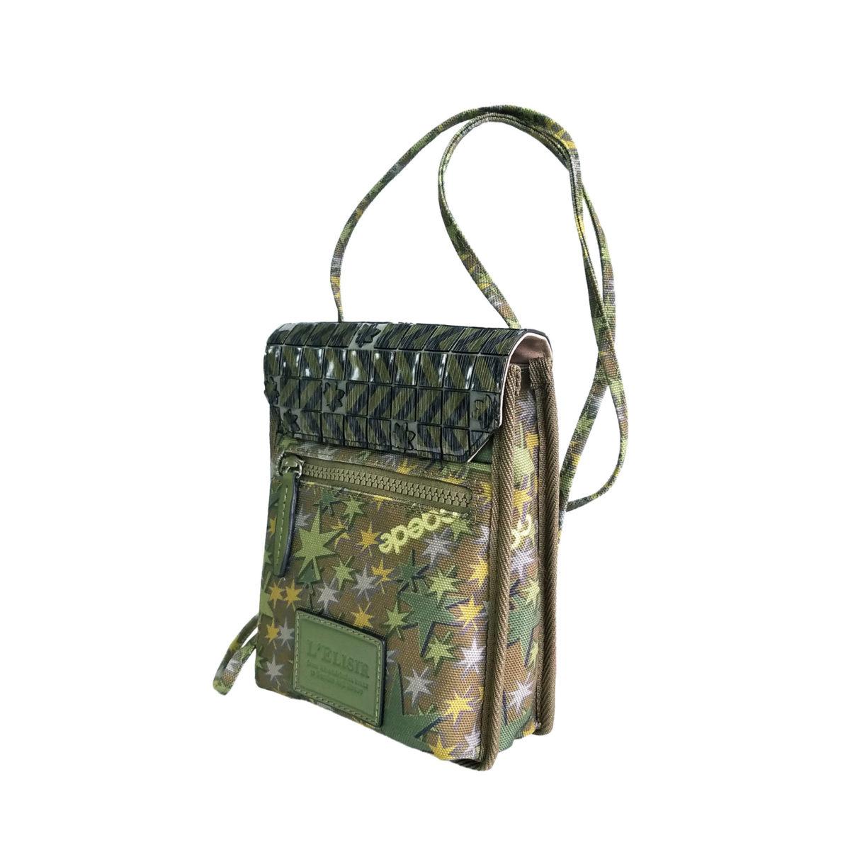Stella Misto Flap Staff Pouth Bag green
