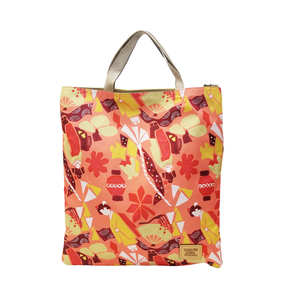 maikopuzzle 3face tote orange