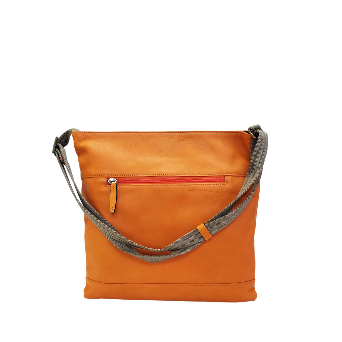 Leather Misto sacoche orange | caede京都