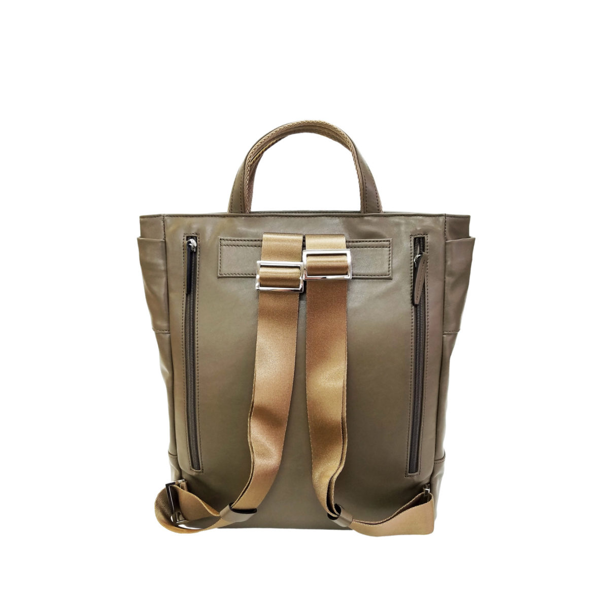 Leather misto 2way ruck sack cocoa