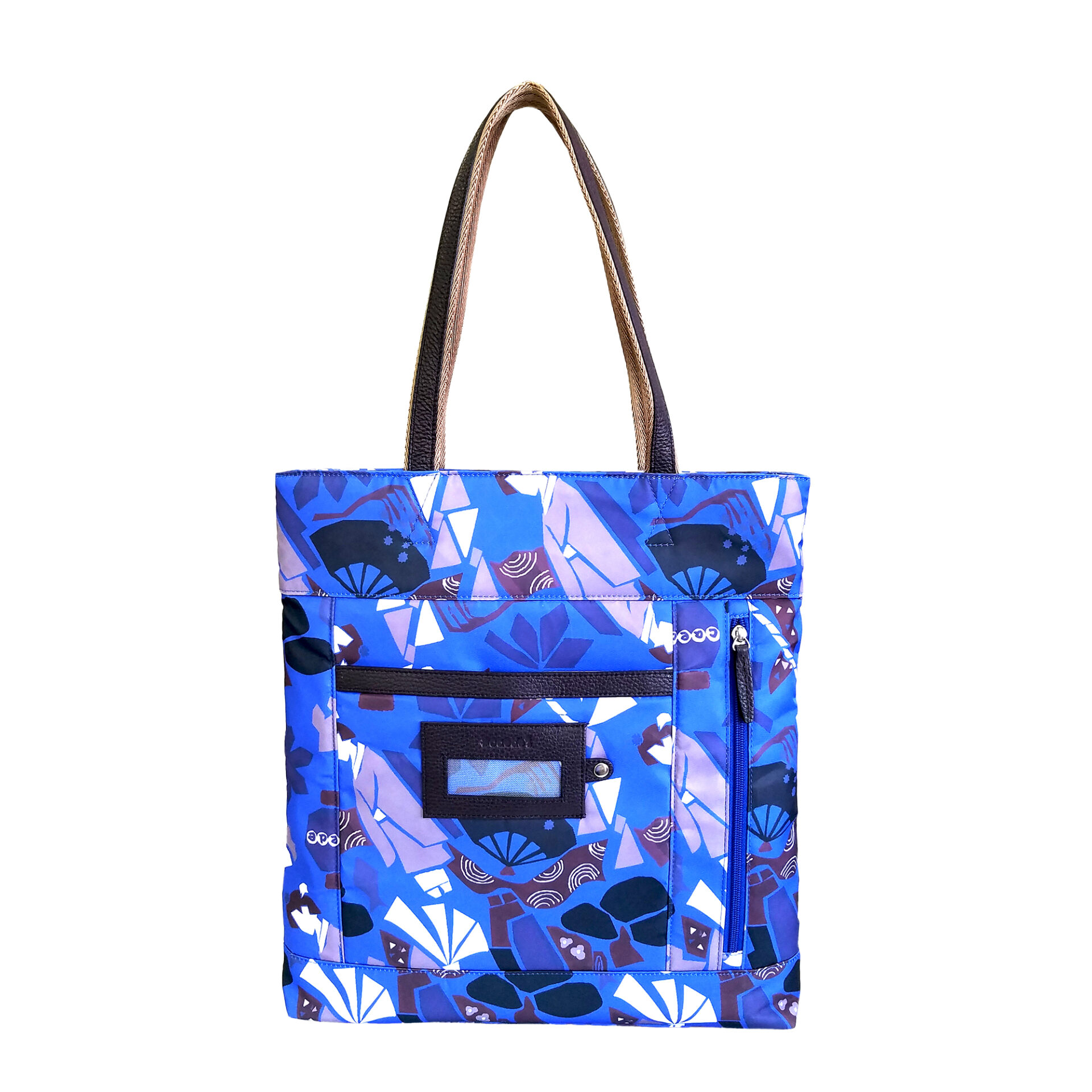 Maiko Puzzle Etna tote blue