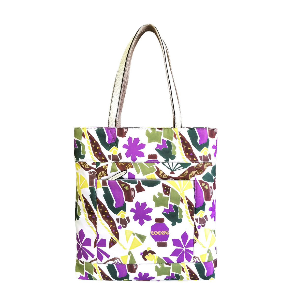 Maiko Puzzle Etna tote ivory