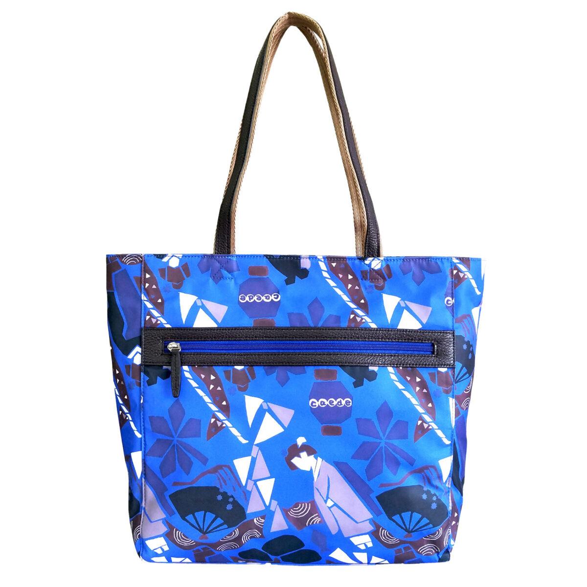 Maiko Puzzle Linate Tote blue