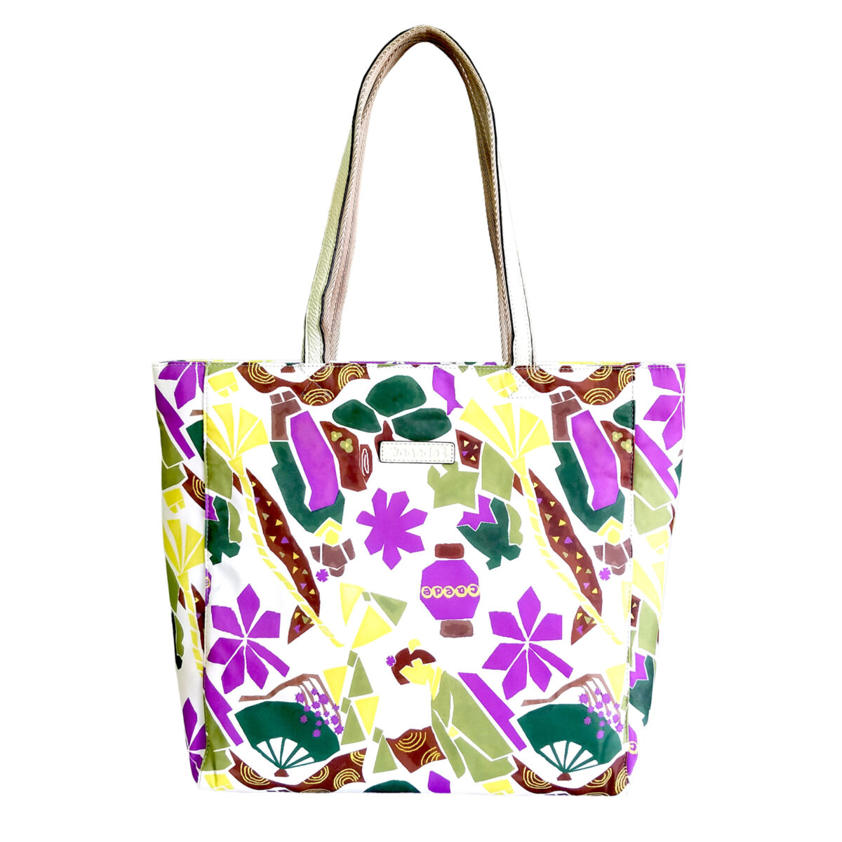 Maiko Puzzle Linate Tote ivory