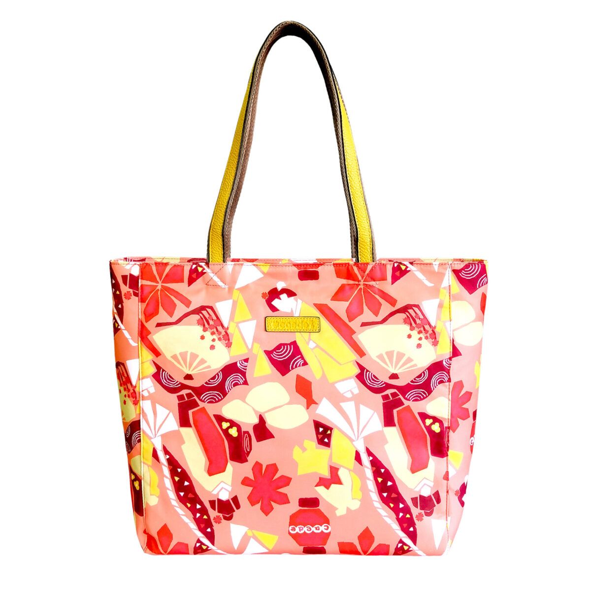 Maiko Puzzle Linate Tote orange