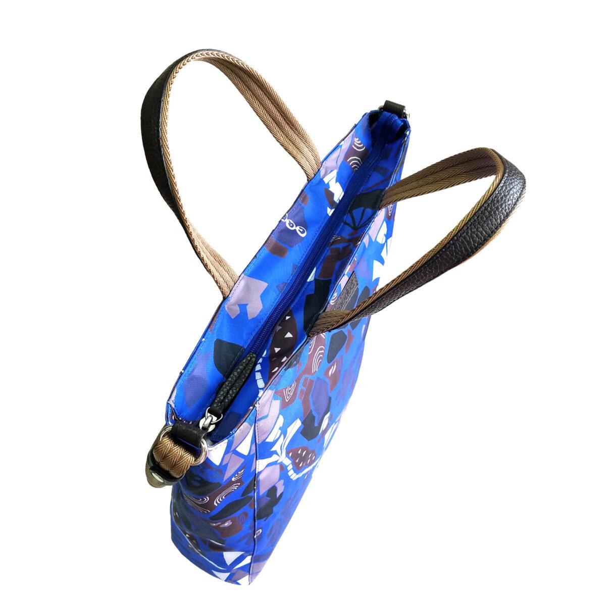 Maiko Puzzle Linate Shoulder blue