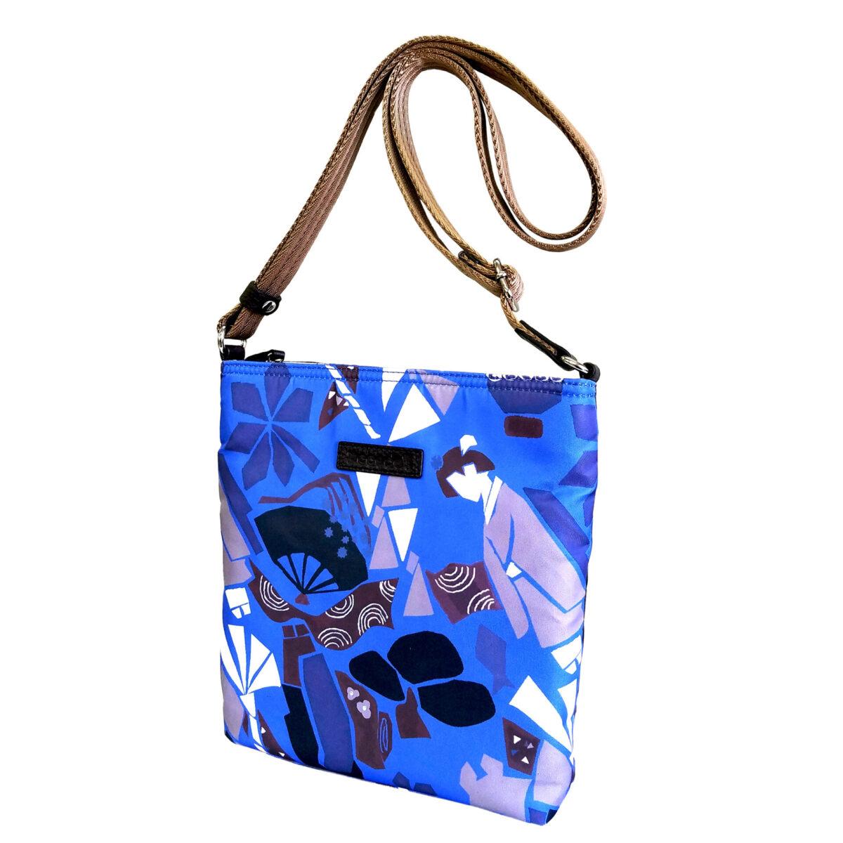 Maiko Puzzle Linate Pochette blue