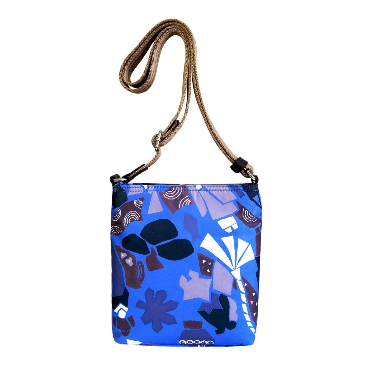 Maiko Puzzle Linate Pochette Mini blue