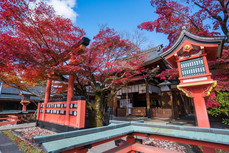 車折神社の紅葉