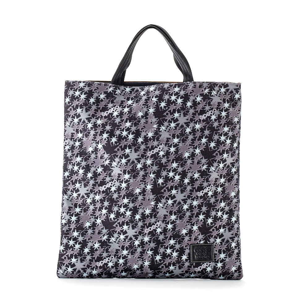 Cerberus 3face Tote COLOR:BLACK