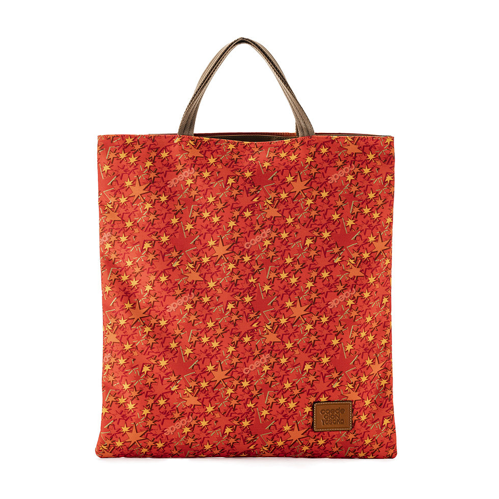 Cerberus 3face Tote COLOR:RED