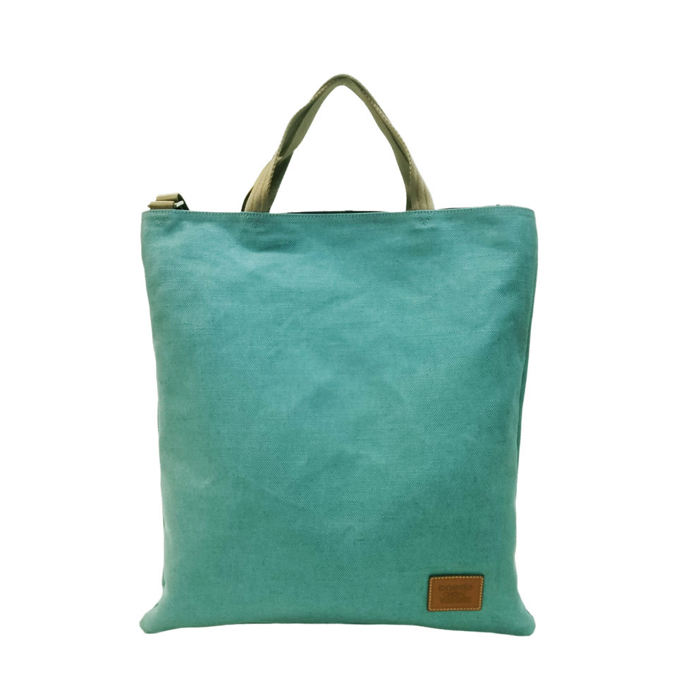 maikopuzzle 3face tote blue