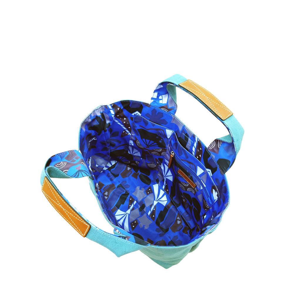 maikopuzzle tote mini blue