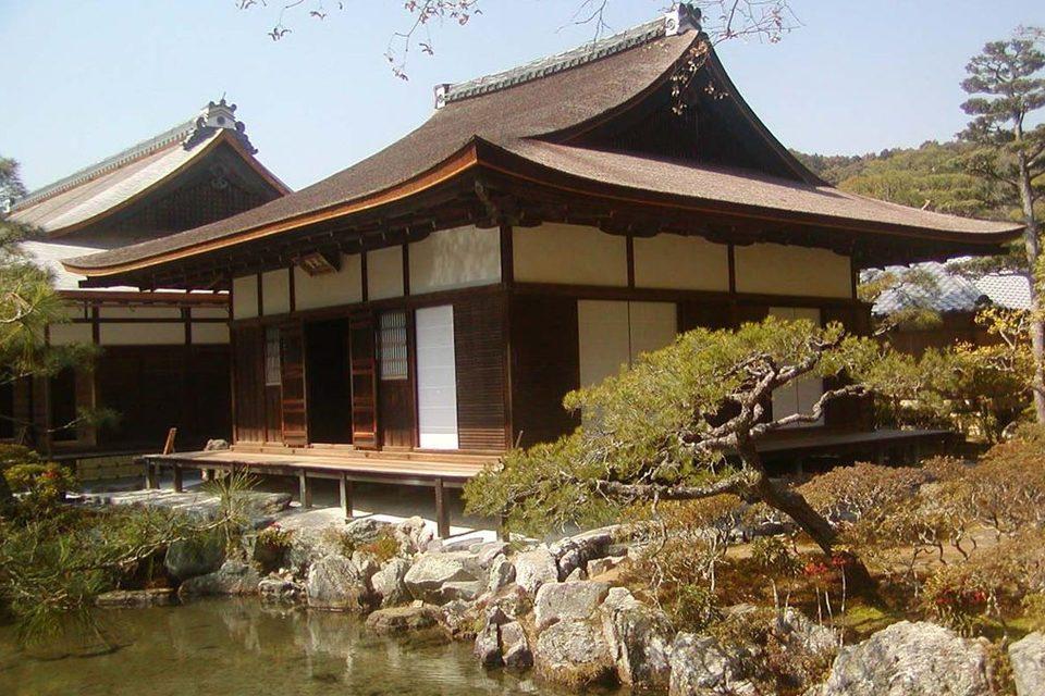 銀閣寺の東求堂