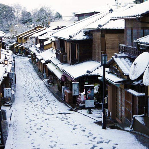京都冬景色