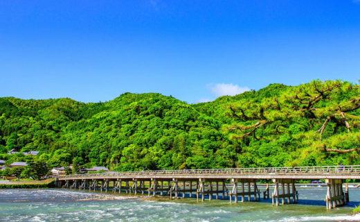 保津川漂流來享受保津峽的新綠