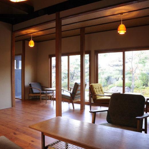 嵐山的River View&庭園咖啡店