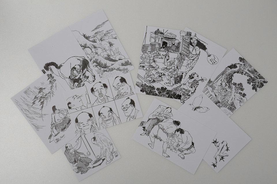 在京都浮世繪美術館穿越時空回到江戶時代!?