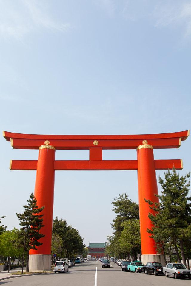 「平安神宮」再現了平安京