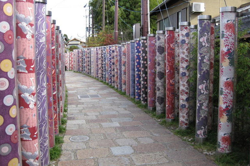 不要穿著和服在京都散步?