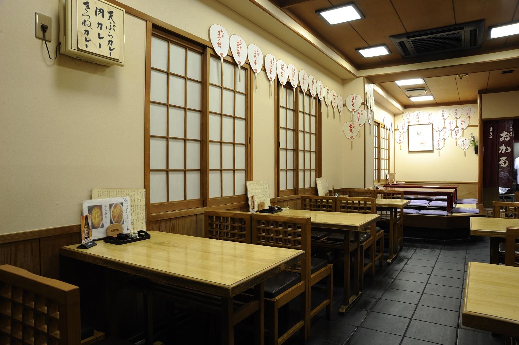 藝妓舞妓們經常光顧的京都花街的烏冬麵名店