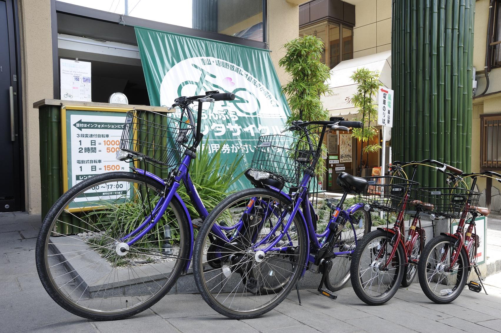 在嵐電嵐山站直通的便利景點享受美食和購物!