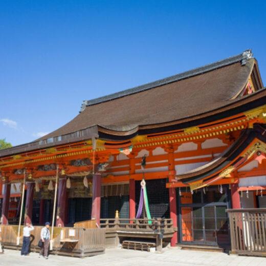 祇園祭中大家熟悉的八阪神社