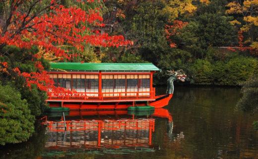 京都中京區的楓葉名勝