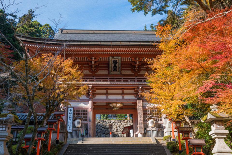 京都鞍馬區域是楓葉的名勝地!