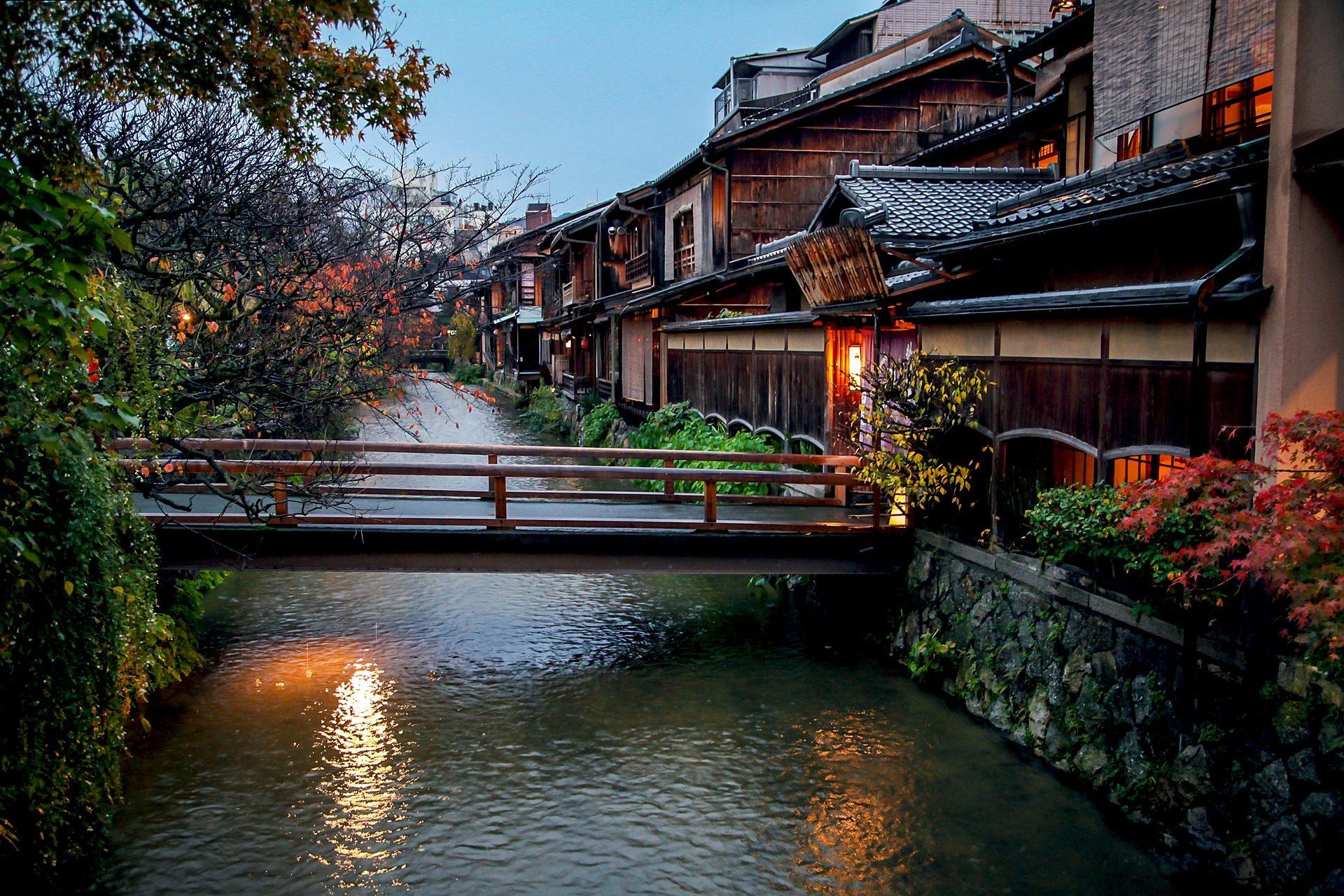 京都的擁擠季節是